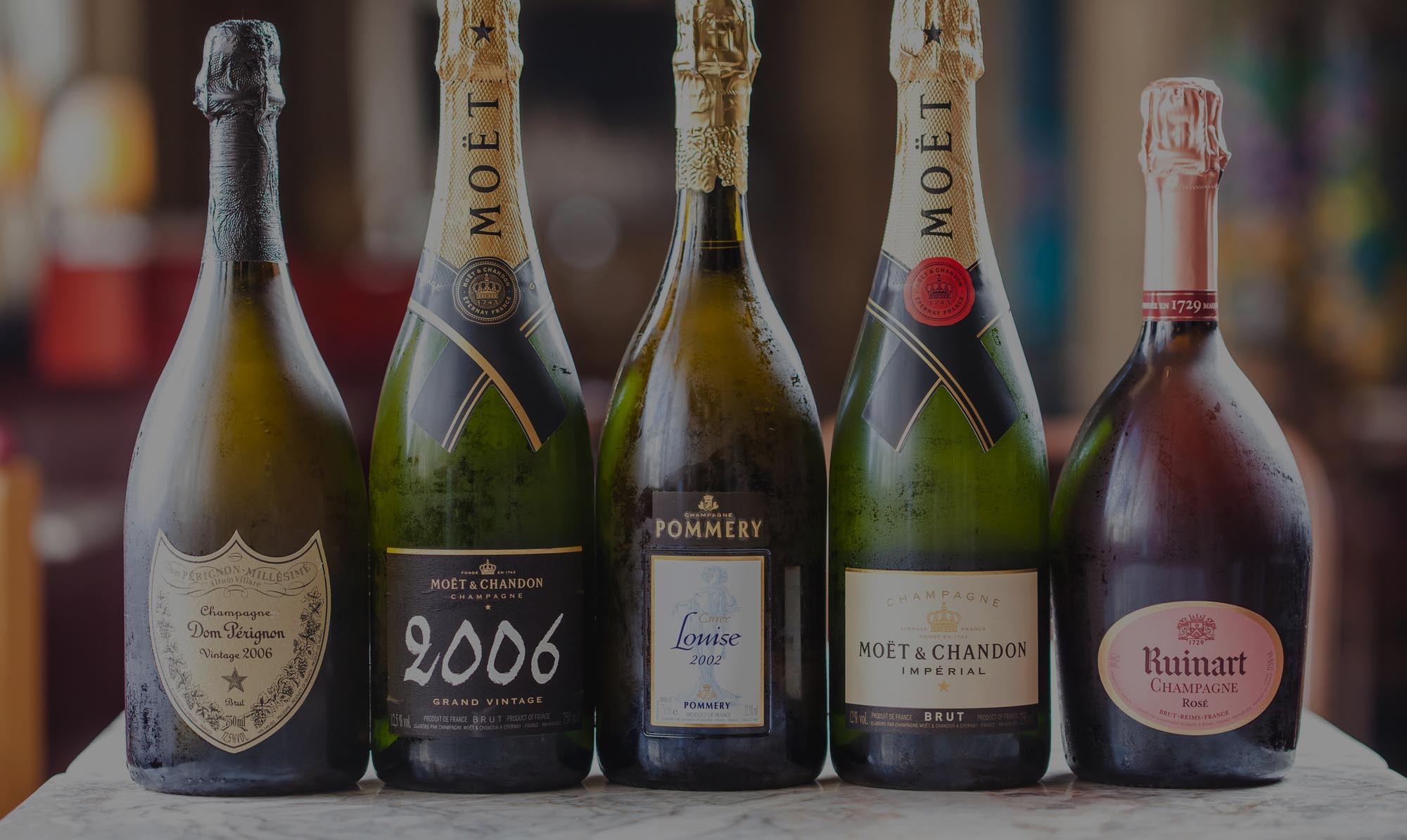 Champagnerkarte