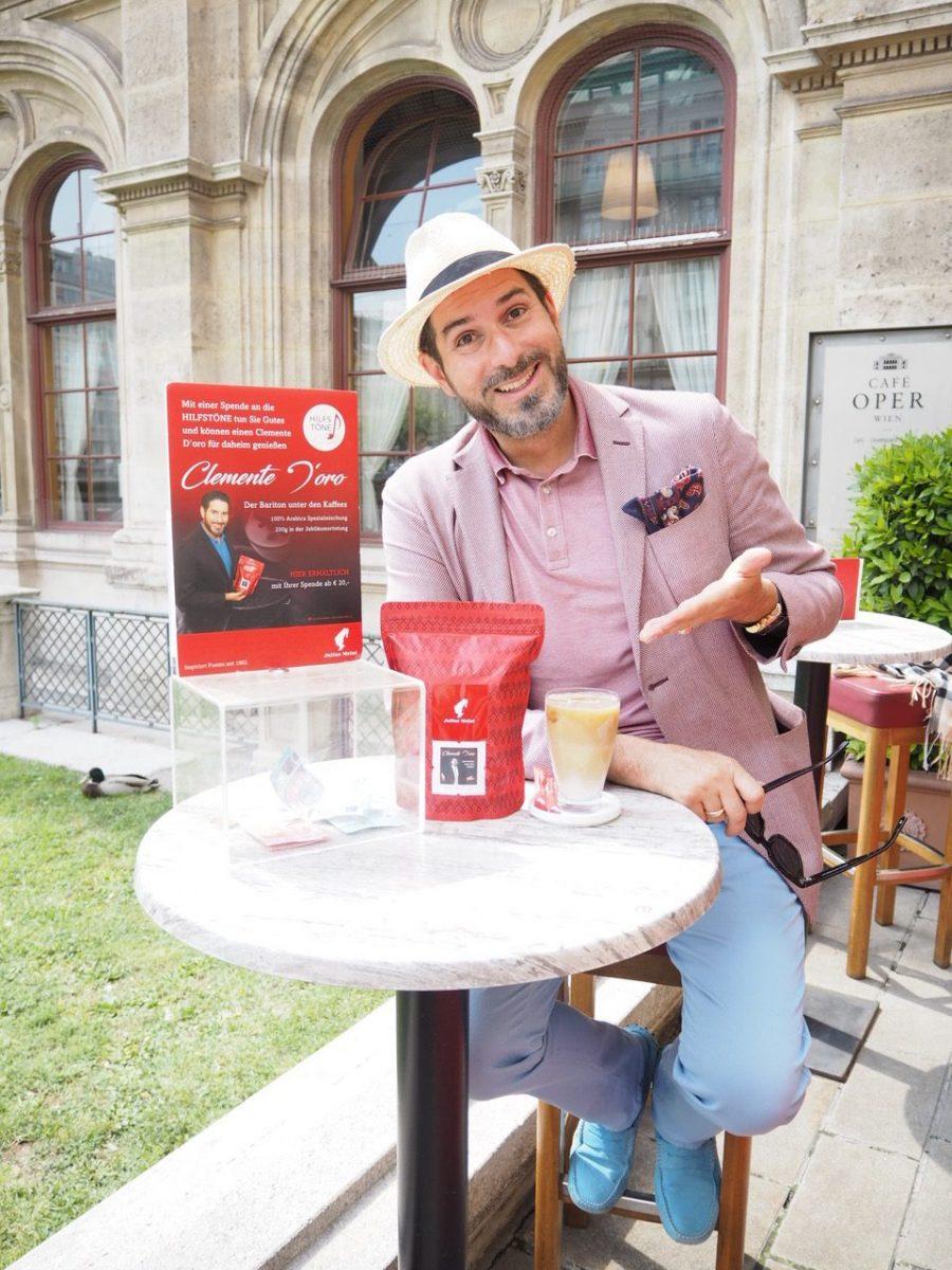 Der Starbariton Clemens Unterreiner und das Café Oper – eine ganz besondere Symbiose